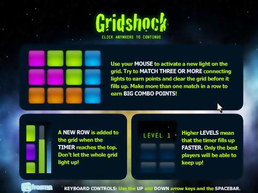 Головоломки · Gridshock