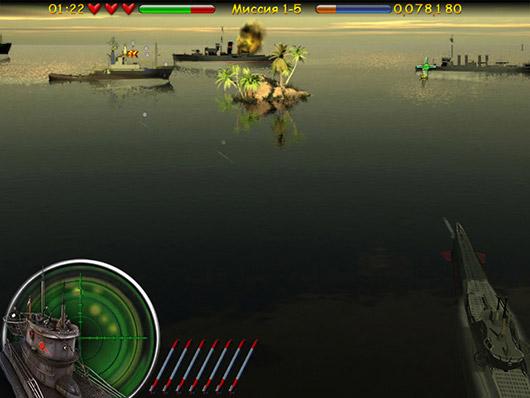 Аркады и экшн · Морской бой. Подводная война