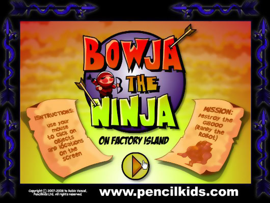 Головоломки · BOWJA THE NINJA (on Factory Island)
