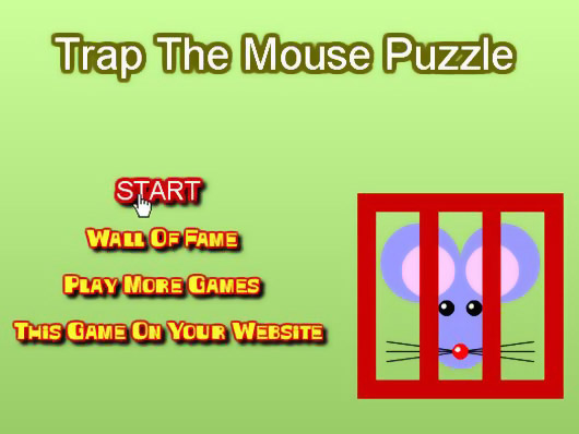 Головоломки · Trap the Mouse Puzzle